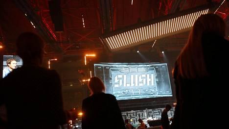 Slush tuo sijoittajat ja kasvuyrittäjät yhteen. Kuva viime vuoden tapahtumasta.