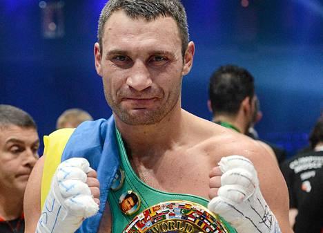 Vladimir Klitškolla on jo WBO:n, WBA:n, IBF:n ja IBO:n mestaruusvyöt.