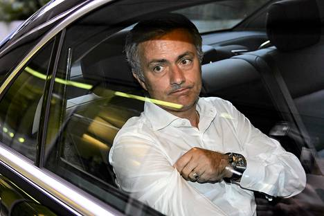 Real Madridin valmentaja Jose Mourinho