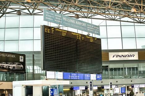 Helsinki-Vantaan lentoasemalla on ollut Finavian mukaan viimeksi 1980-luvulla ollut yhtä vähän matkustajia kuin viime vuonna.