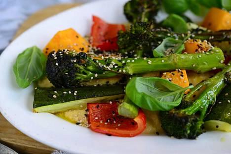 Pegaaniruokavaliossa noin 75 prosenttia ruuasta on kasvispohjaista.