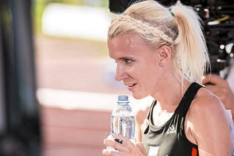 Sandra Eriksson juoksi odotettuun voittoon.