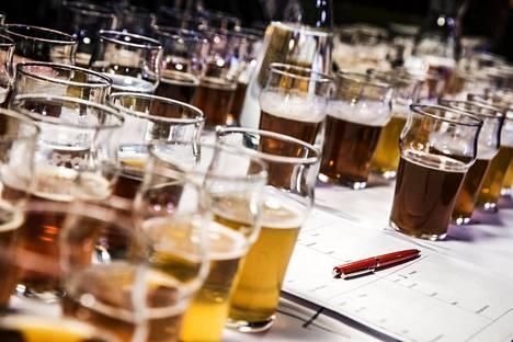 Testissä oli mukana 16 gluteenitonta olutta.
