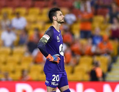 Vedran Janjetović harmitteli ottelun loppuhetkiä perjantaina.