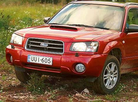 Neliveto Subarun valttina