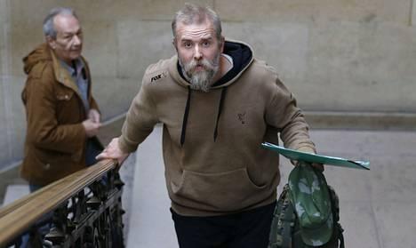 Varg Vikernes kuulusteluissa oikeustalolla Pariisissa 17. lokakuuta 2013.