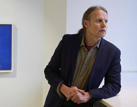 Taidemaalari Kaj Stenvall tammikuussa 2016.