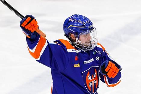 Valtteri Kemiläinen is an important piece in Tappara's superiority game and defense.