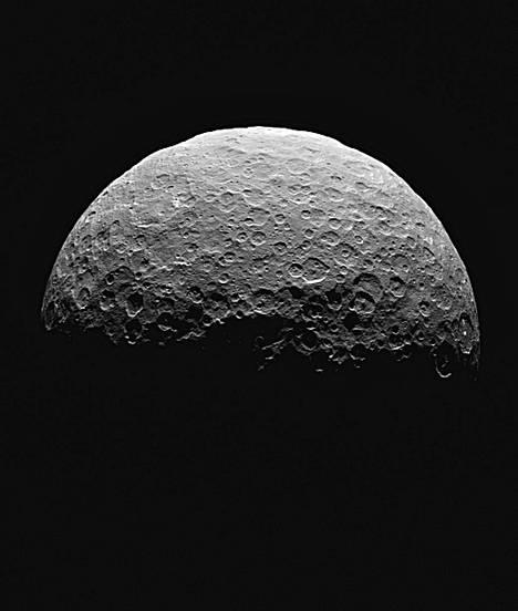Veden jäämät olivat ehkä peräisin kääpiöplaneetta Cerekseltä.