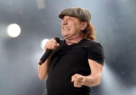 68-vuotias Johnson on toiminut AC/DC:n päälaulajana vuodesta 1980 lähtien.