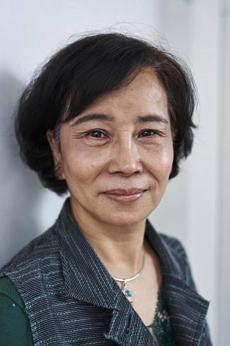Vegaaniravintolan omistaja rouva Lin Ge-fan