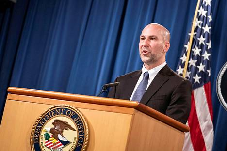 Steven D'Antuono, director of the FBI's Washington Field Office, spoke at a news conference in Washington on Tuesday.