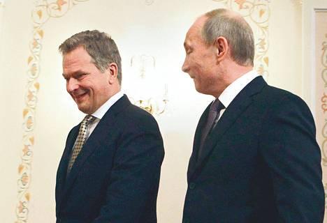Sauli Niinistön ja Vladimir Putinin edellinen kahdenvälinen tapaaminen oli helmikuussa Moskovassa.
