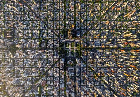 Buenos Airesissa katuverkko yhdistyy parhaiten, tuore tutkimus sanoo.