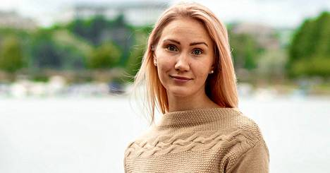 Demarinuorten uusi puheenjohtaja Pinja Perholehto.
