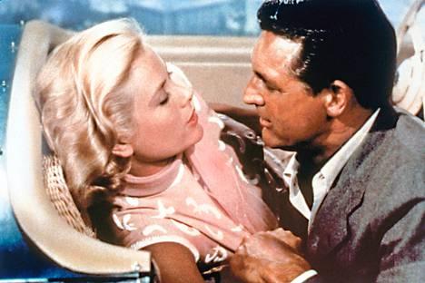 Grace Kelly ja Cary Grant rakastavat Varkaitten paratiisi -elokuvassa