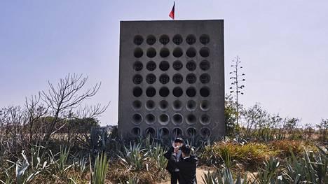 Megafonit huusivat Jinmeniltä yötä päivää kommunisminvastaista propagandaa kohti Kiinaa 1970-luvun loppuun asti. Nykyään ne ovat turistinähtävyys.
