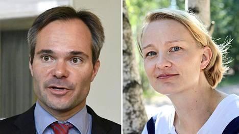 Kai Mykkänen ja Mervi Katainen