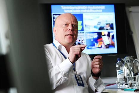Liikenne- ja viestintäministeriön konserniohjausosaston osastopäällikkö Juhapekka Ristola vertaa liikenteen muutosta viestintämarkkinoiden avaamiseen 1980-luvun lopussa.