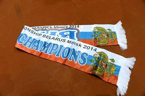 Minskin myytiin Venäjän maailmanmestaruushuiveja jo ennen finaalia.