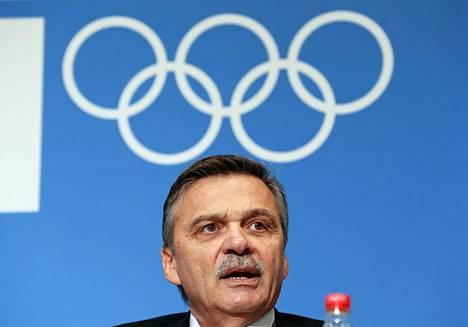 Kv. jääkiekkoliiton puheenjohtaja Rene Fasel luottaa NHL:n osallistumiseen olympialaisissa.