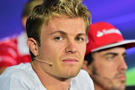 Nico Rosbergin puheet kiinnostivat F1-toimittajia torstaina.