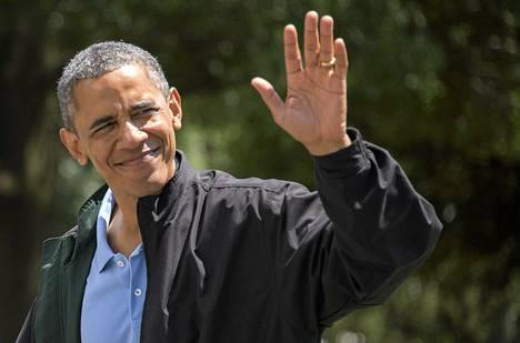 Yhdysvaltain presidentti Barack Obama