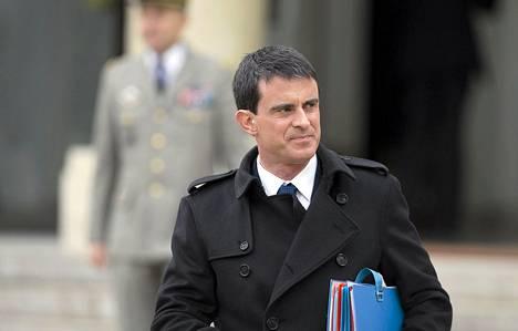 Ranskan pääministeri Manuel Valls
