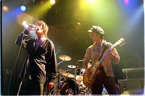 Stone Roses esiintyi Tavastialla elokuussa vuonna 1995.