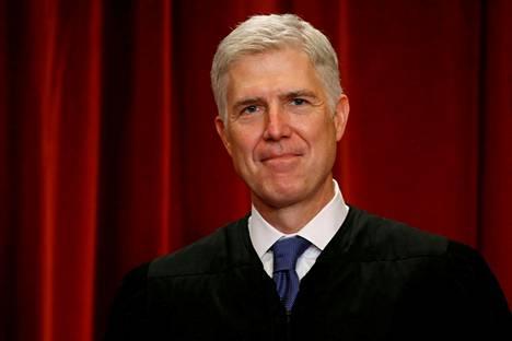 Yhdysvaltain korkeimman oikeuden tuomari Neil Gorsuch.