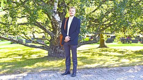 Joonas Vatjus soittaa Kauhajoella vielä viikon, jonka jälkeen hän palaa opintojensa pariin. Tavoitteena on kaksi tutkintoa, opettaja ja säveltäjä.
