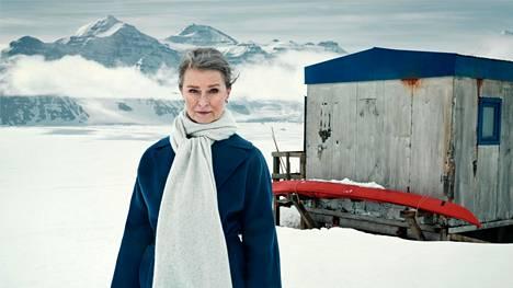 Lena Endre on Grönlantiin sijoittuvan sarjan pääosassa.