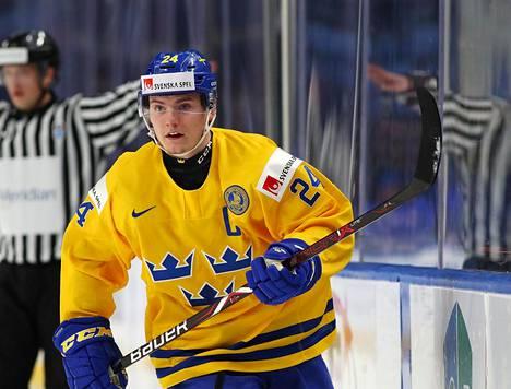 Lias Andersson johti Ruotsin nuoret MM-hopealle.