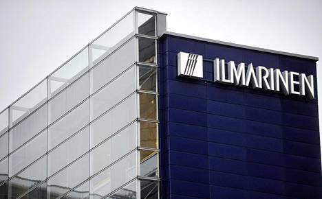 Työeläkeyhtiö Ilmarisen pääkonttori sijaitsee Helsingin Ruoholahdessa.