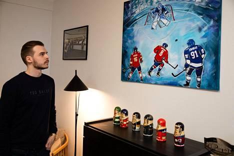 Pokeriammattilainen ja Tesla-sijoittaja Pauli Äyräs on kiinnostunut jääkiekosta.