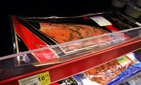 Vakuumipakattu graavikala pitää säilyttää tavallista kylmemmässä jääkaapissa.