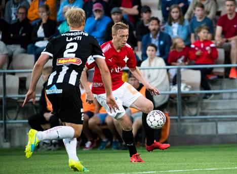Mikael Forssell pelasi päättyneellä kaudella HIFK:ssa.