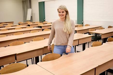 Emilia Kokkonen valmistuu elokuussa Helsinki School of Businessista, minkä jälkeen hän haluaa lähteä tekemään maisterin tutkinnon ulkomaille.