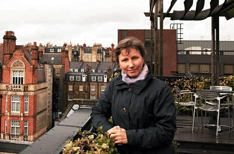 Marina Litvinenko kuvattuna Lontoossa syyskuussa.