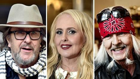 Hector, Maarit Hurmerinta ja Kari Peitsamo saivat taiteilijaeläkkeen.