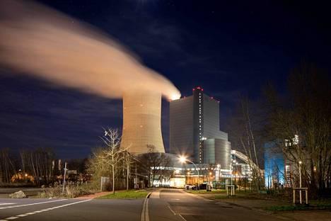 Uniperin hiilivoimala Datteln 4 herätti ympäristöjärjestöissä voimakasta vastustusta.