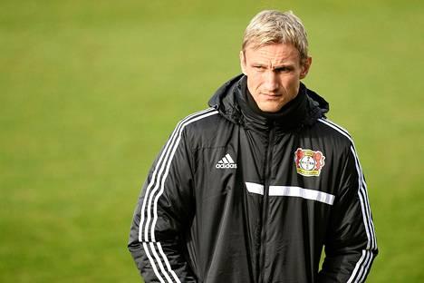 Sami Hyypiän kausi Leverkusenin päävalmentajana on olut vaikea.