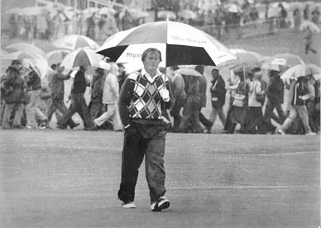Jack Nicklaus Muirfieldin kentällä vuonna 1980.