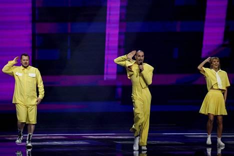 Liettuan tanssibiisiä ovat olleet tekemässä suomalaiset Kalle Lindroth ja Ilkka Wirtanen.
