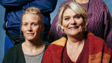 Kill Anneli -elokuvan pääosia näyttelevät Laura Birn ja Pirkko Hämäläinen ovat mainio pari.