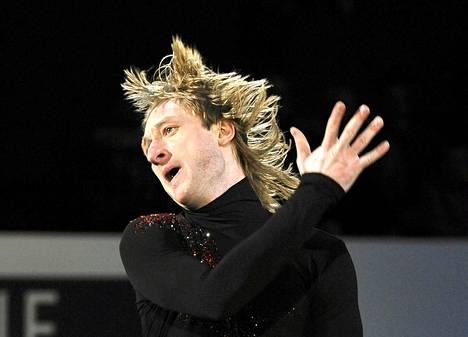 Venäläinen taitoluistelun olympiavoittaja Jevgeni Plushenko tähtää Sotshin vuoden 2014 talviolympialaisiin.