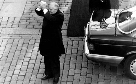 Mihail Gorbatov Suomessa 1989.