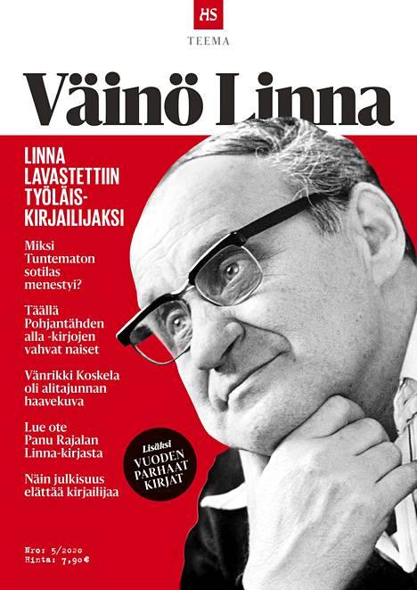 Torstaina ilmestyvän HS Teeman aiheena on klassikkokirjailija Väinö Linna.