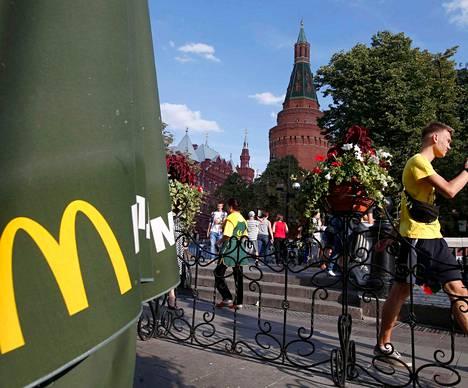 Venäjällä on yli 400 McDonald's-ravintolaa.