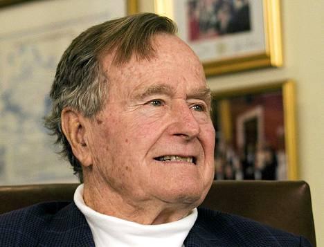 George H. W. Bush kuvattuna maaliskussa 2012.